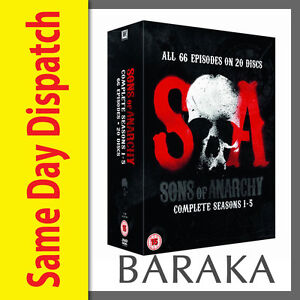 Sons-of-Anarchy-The-Complete-Seasons-Series-1-2-3-4-amp-5-DVD-Boxset-1-5-Box-Set