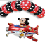 New-Disney-Mickey-Mouse-Birthday-Foil-Latex-Balloons-Plane-Party-Decorations-Boy thumbnail 9