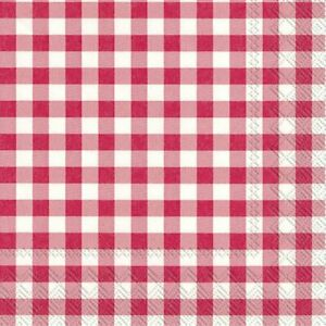 TAVERNA-RED-big-check-Paper-Table-Napkins-20-in-a-pack-33cm-sq