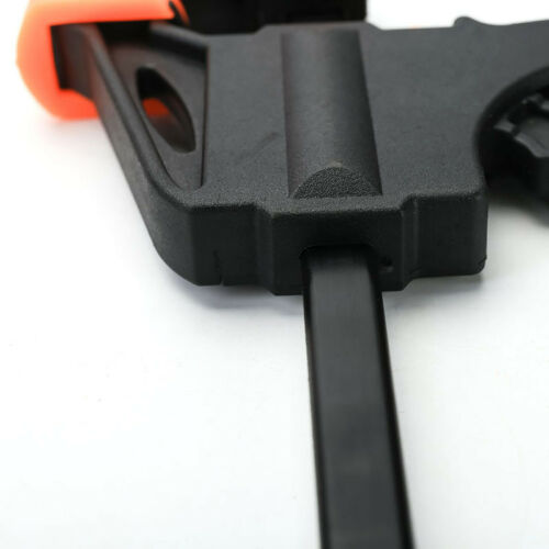 4 Inch Wood Working Bar F Clamp Grip Ratchet Release Squeeze Hand Gadget Tool