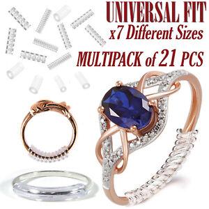 Tamano-del-anillo-Reductores-para-anillos-Suelto-Clip-Protector-Sizer-Resizer-ajustadores-de-21