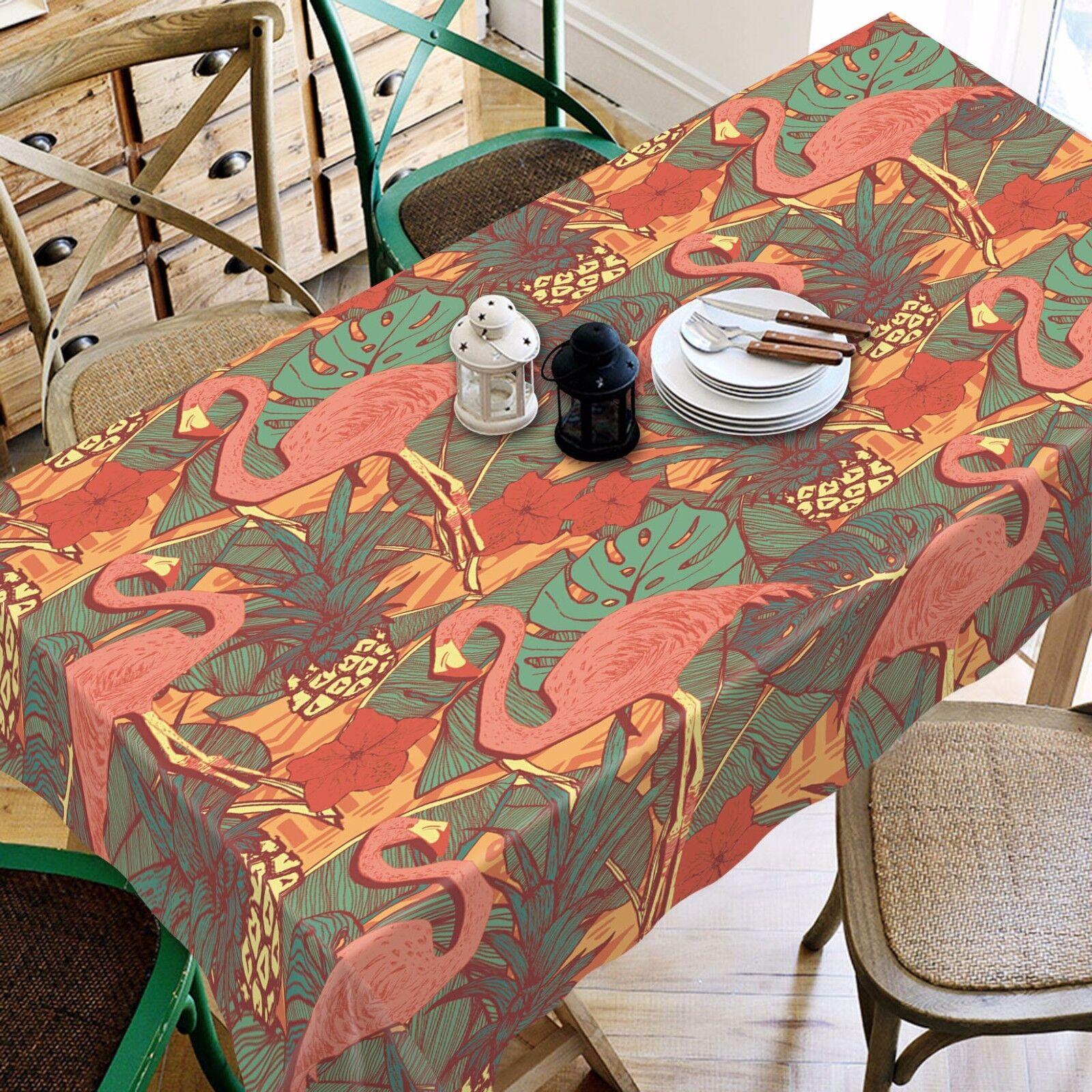 3D Cranes 4393 Tablecloth Table Cover Cloth Birthday Party Event AJ WALLPAPER AU
