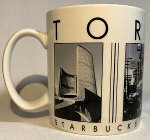 Starbucks Toronto, Canada Barista City Scene Series Coffee Cup Mug