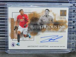 2019-20 Impeccable Anthony Martial Illustrious Ink Auto Autograph #/49 J87