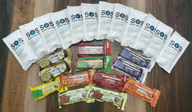 10 Pack Coconut New Millennium Survival Emergency Energy Food Bar MRE Rations