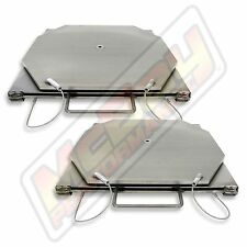 Alignment Rack Stainless Steel Car & Light Truck Turn Plate Table Set Hunter USA