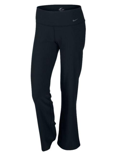 deb9aac7fe197 Womens Nike Legend Dri Fit Classic Yoga Pants Small Black Small 971847