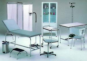 Sgabello imbottito arredamento ambulatorio medico studio