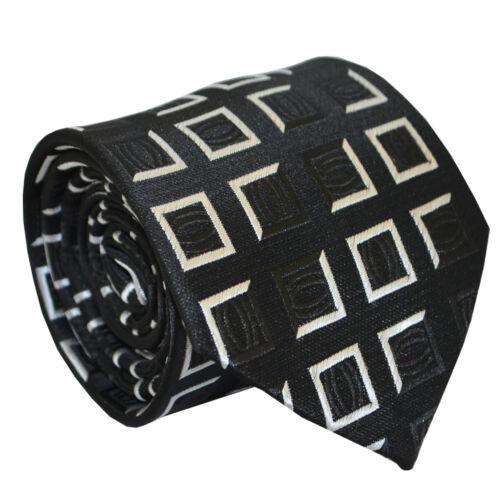 Details about  / Silk Black White Men Necktie Tie Wedding Party Office Business For Men NT019