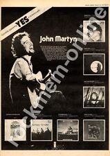 John Martyn Inside Out Advert 16/2/74