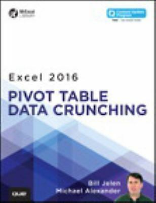 mrexcel library excel 2016 pivot table data crunching by bill jelen