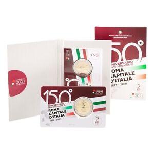 2 euro commémorative Italie 2021 BU - Rome, capitale depuis 150 ans