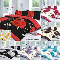 Duvet Cover & Pillow Case Quilt Cover Bedding Set Single Double King Super King