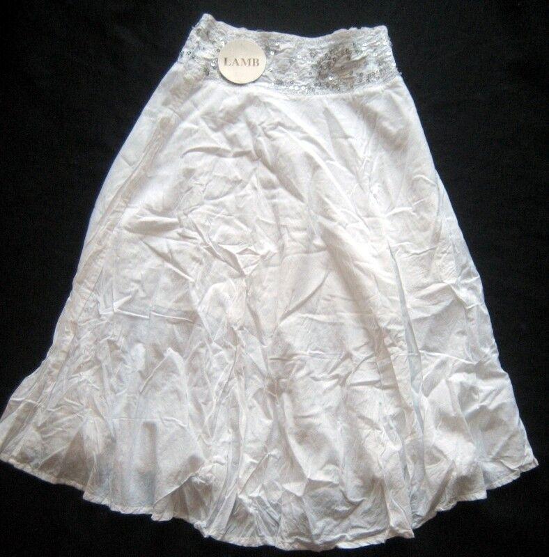 LAMB Damenrock in Weiß   Gr. 42   NEU