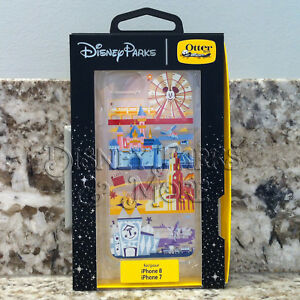 new arrival 384d8 876ba Details about Disneyland Disney OtterBox Attractions Small World Castle  iPhone 7 & 8 Case
