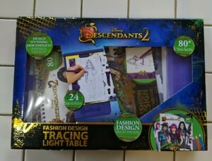 Make It Real Disney Descendants 2 Sketchbook Tracing Light Table Fashion Design 9781732726529 Ebay