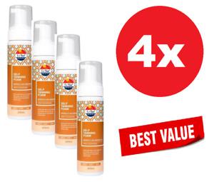 4x Le Tan Self Tanning Foam Moroccan Argan Oil 200mL