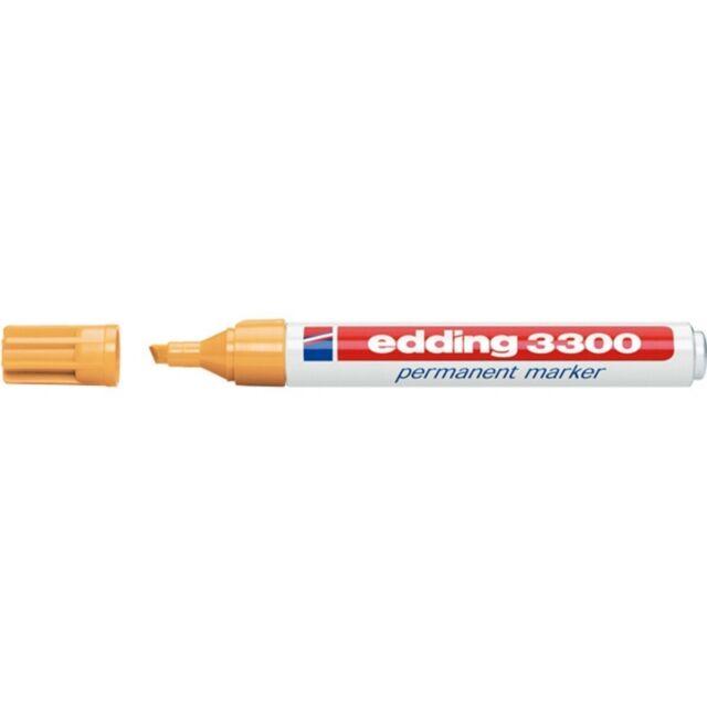 Edding 3300 Permanentmarker 013 OCKER Ocher Permanent Marker 1-5mm Keilspitze