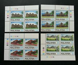 SJ-Malaysia-Historical-Building-1986-Palace-stamp-blk-4-MNH-see-scan