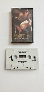 George-Michael-Faith-1987-Music-Cassette-Faith-Father-Figure-PRE-OWNED-amp-TESTED