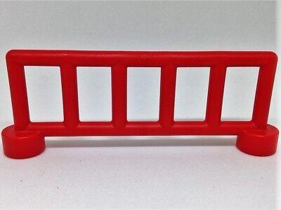 LEGO Duplo 3x Zaun Gatter Pferde Koppel f Bauernhof rot braun 47548