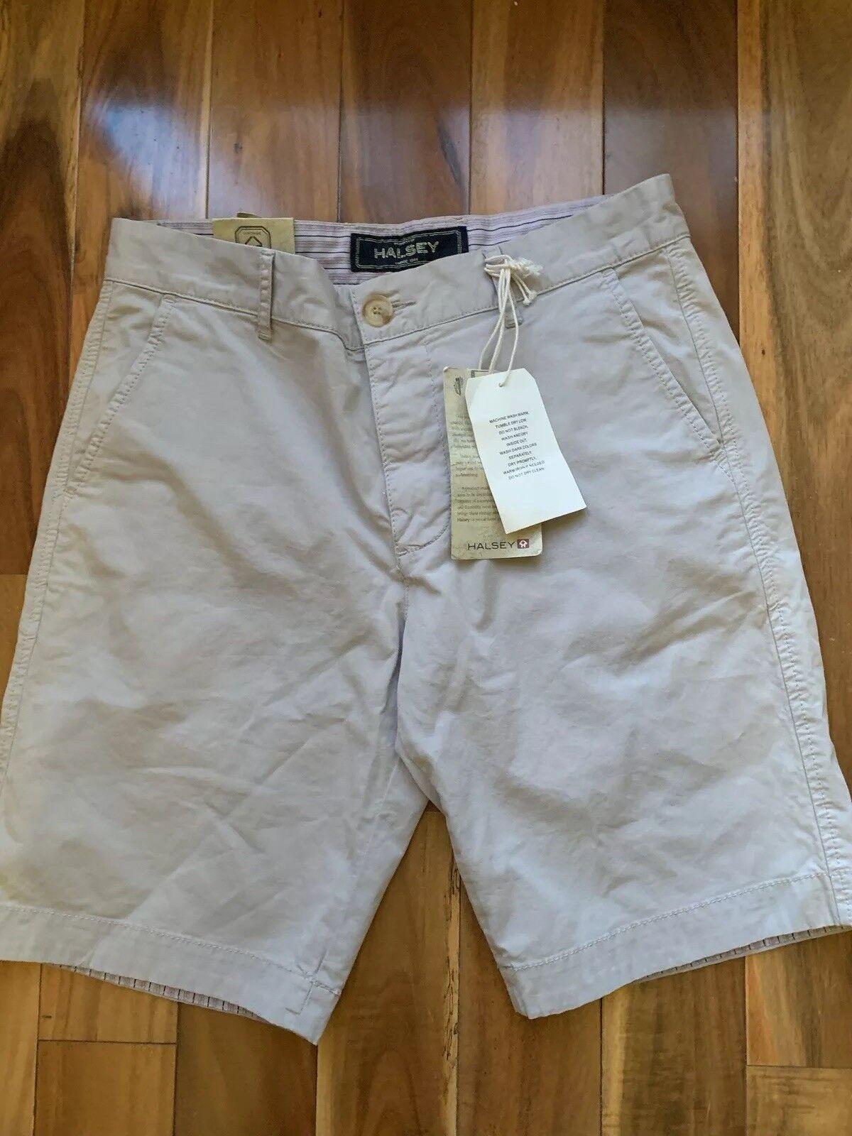 Halsey 44 Khaki Shorts  NEw With Tags   size 33