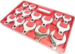 Jumbo-Hahnenfuss-Flare-Nut-Schraubenschluessel-Schraubenschluessel-Set-14pc-27mm-50mm-sp140