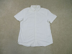 Lululemon-Button-Up-Shirt-Adult-Large-White-Lightweight-Casual-Camp-Mens