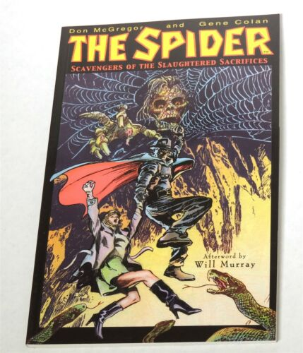 2002 A0167 The Spider Scavengers of the Slaughtered Sacrifices Graphic novel