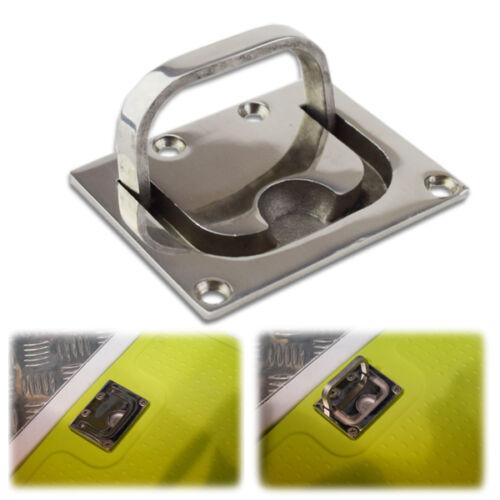Marine S.S Boat Hardware Flush Fitting Lifting Pull Hatch Lift Ring Handle Fine