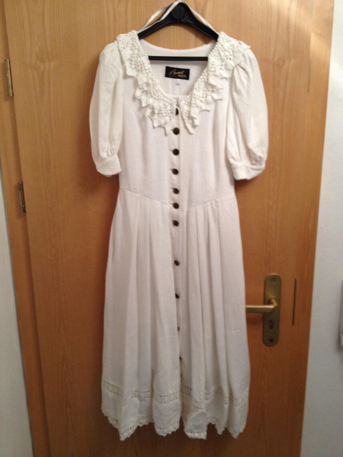 Apart Fashion Landhauskleid, Farbe weiss, Größe 36,