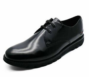 Mens About Shoes 46 Derby Sizes Shine Black Kymbo Leather Hi Details Lace Kickers 40 Smart Up UMzLSGjVpq
