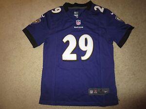 Details about Justin Forsett #29 Baltimore Ravens NFL Jersey Youth M 10-12 medium children