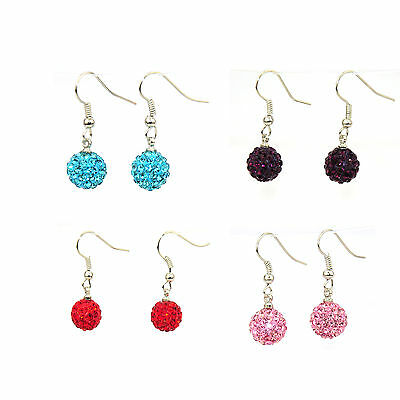 Shamballa 10mm Earrings End of Stock Sales Buy One Get One Free