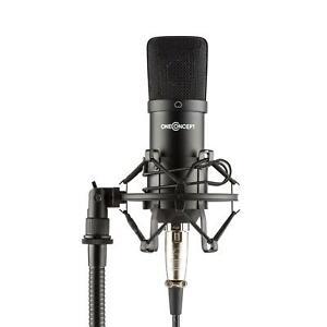 Microfono-Condensatore-Professionale-Registrazione-Youtube-ASMR-Canto-Radio