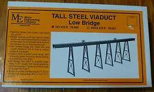 Micro Engineering Company HO #75550 /210' Tall Steel Viaduct, Low Bridge w/Bents