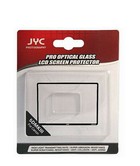 0,5mm Jyc Screen Protector Glass for Canon Eos 5d Mark III
