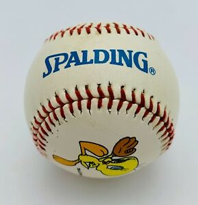 Vintage Spalding Tweety Bird Warner Brothers Collectors Baseball