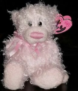 Delights Pinkys - Ty Beanie Baby - MWMT - Pink Bear - FREE SHIPPING
