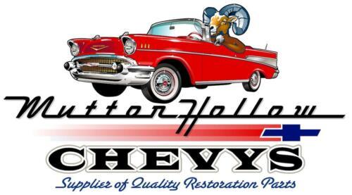55 56 57 Chevy 2-Door Hardtop /& Convertible Interior Door Garnish Clips