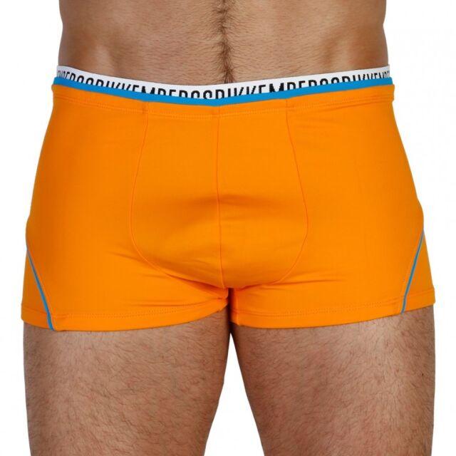 121572c2a9ad70 BIKKEMBERGS 'Logo Stretch Tape' Men's Swim / Bathing Boxer Trunks M ...