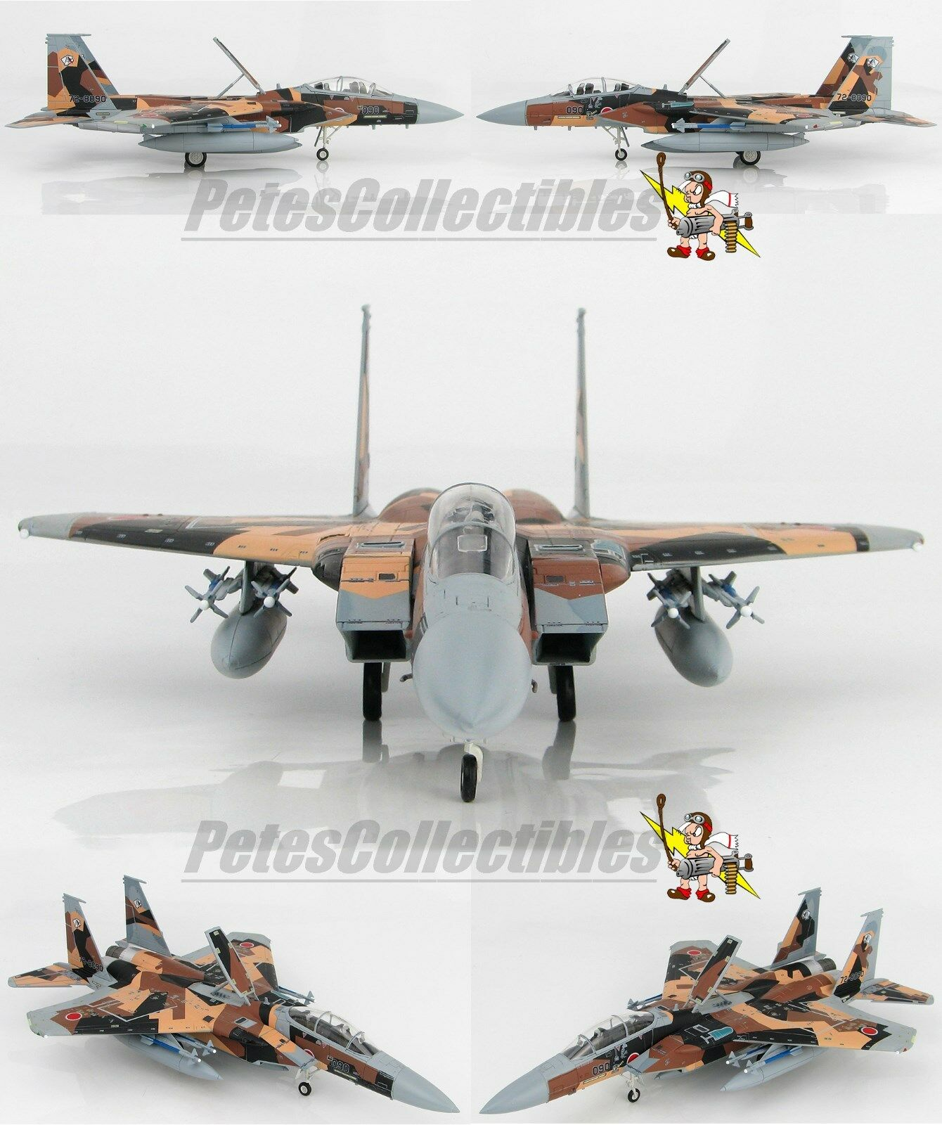 Hobby Master HA4513 McDonnell Douglas F-15DJ Aggressor 72-8090 JASDF 2010 1 72nd