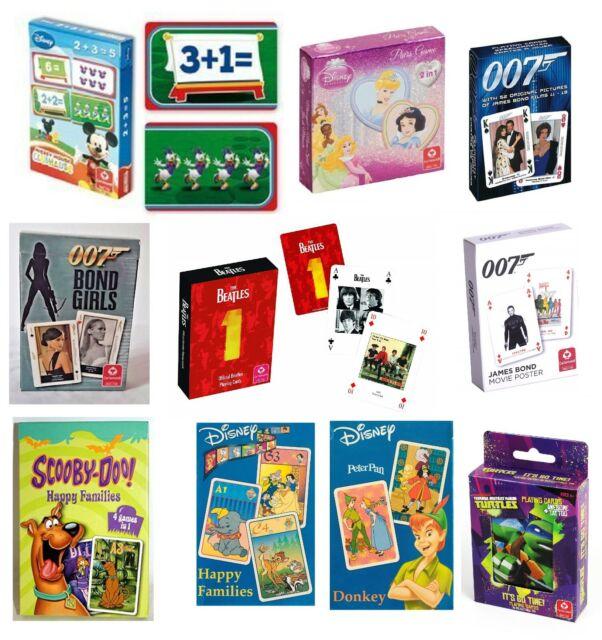 Cartamundi playing cards Disney The Muppets New