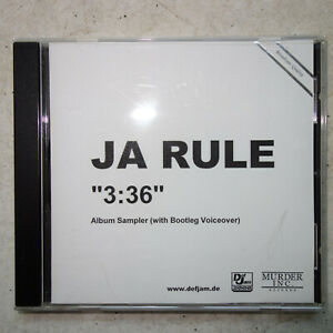 Ja-Rule-3-36-PROMO-Sampler-With-songs-not-the-same-with-retail-release-MINT