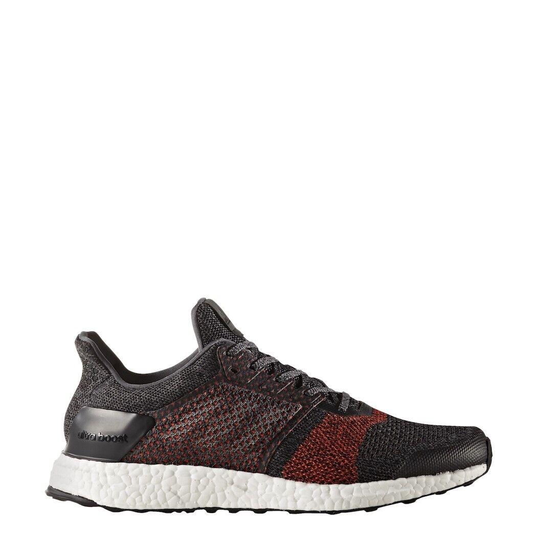 Adidas ultra Boost St señores zapatillas Zapatillas negro rojo [s80616]