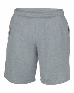 Gildan Performance Adult Mens Fitness Gym Casual Wear Sports Shorts Top Trunk
