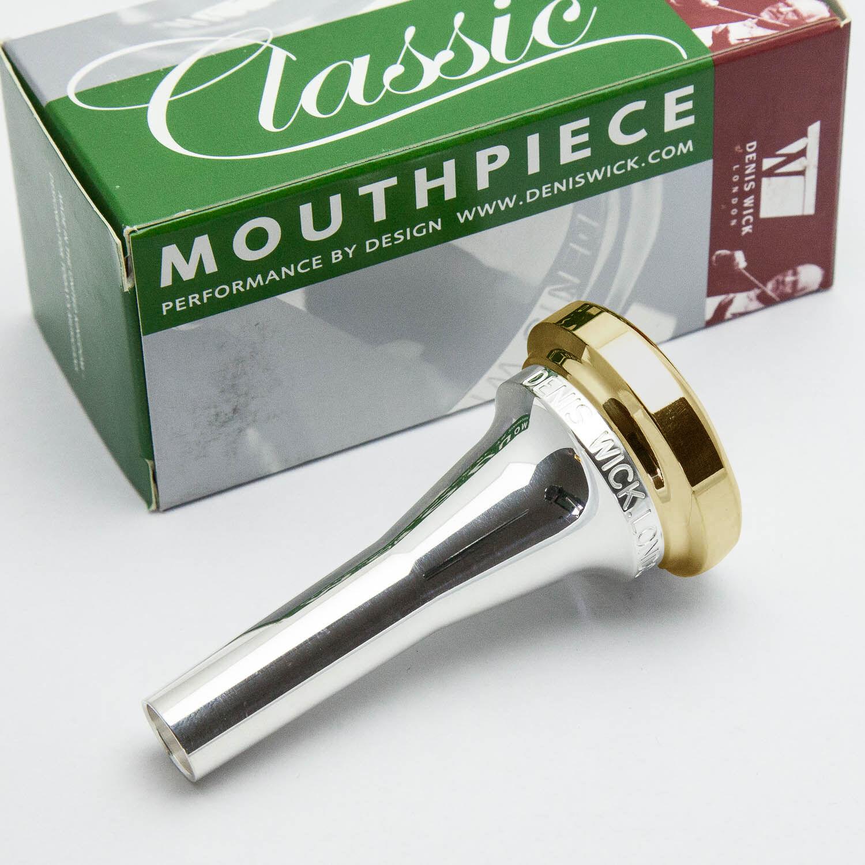 6BM 24K Gold Rim /& Cup Denis Wick Euphonium Mouthpiece