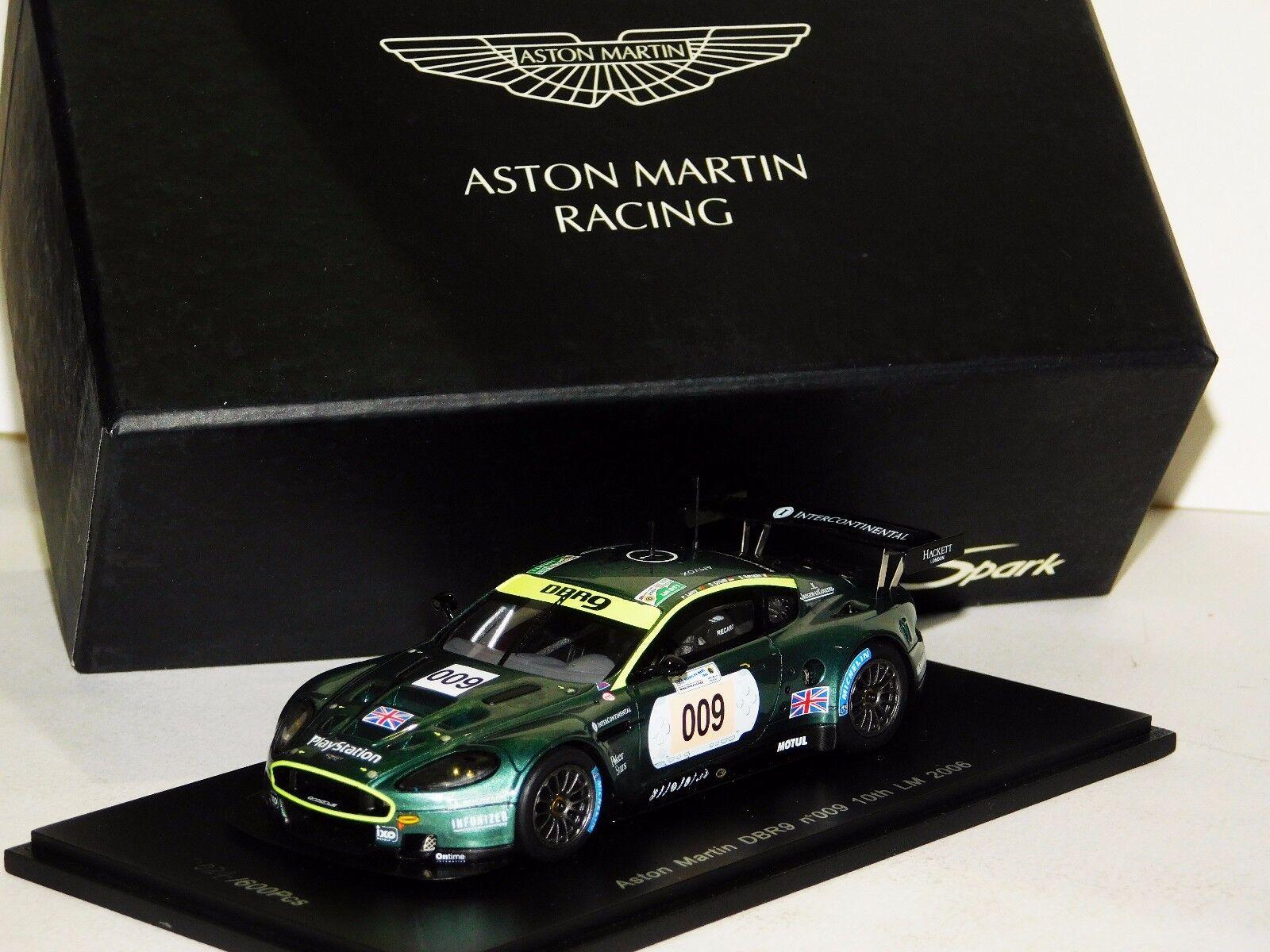 la calidad primero los consumidores primero Aston Martin DBR9  009 10th Le Le Le Mans 2006 Spark S1204 1 43  estilo clásico