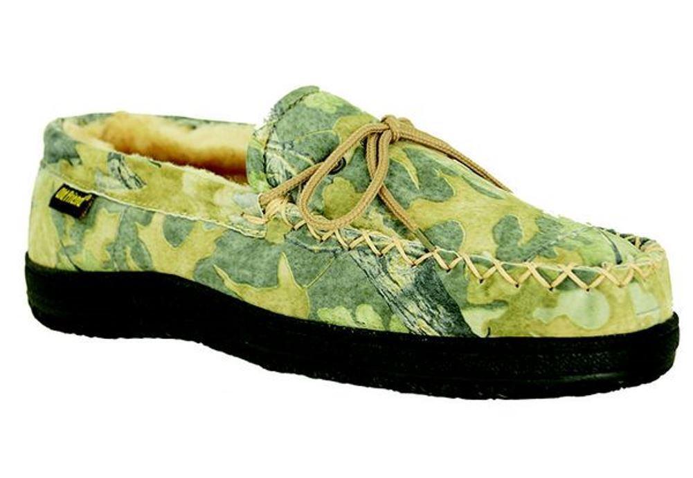 Old Friend Para Hombre transpirable Camuflaje Mocasín Zapatillas 421124