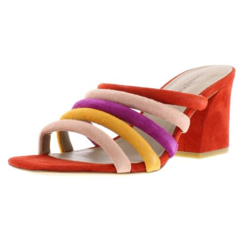 Pliner Womens Wes Multi Slide Sandals Shoes 9 Medium Donald J BHFO 5210 B,M
